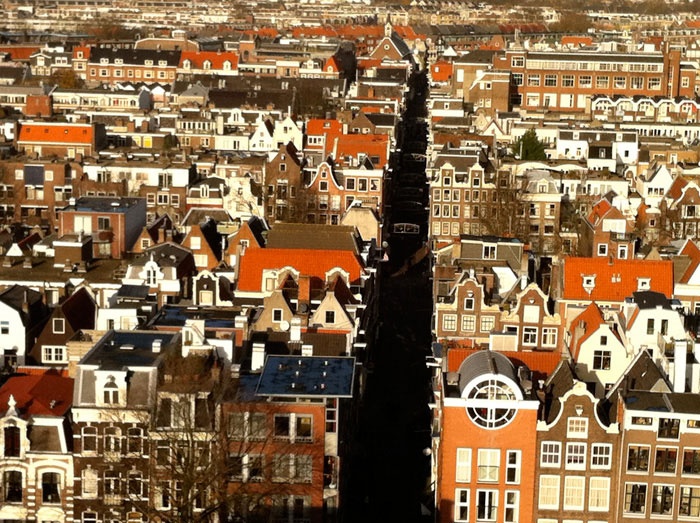 Amsterdam: view from the Westertoren